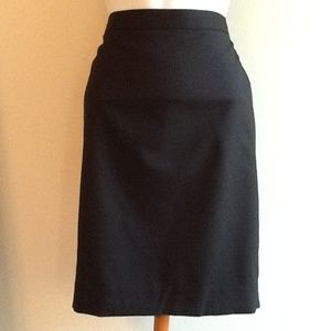 J. Crew Pencil Skirt in Super 120s Wool